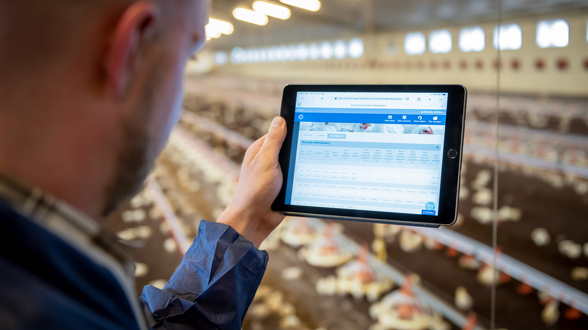 Evonik PLF takes livestock farming into the digital era